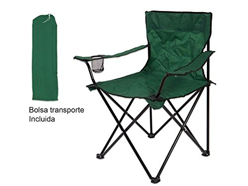 Silla Pesca Caza Plegable 50x50x80cm