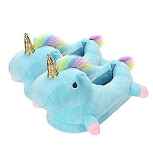 Zapatillas Unicornio Mujer Suave Zapatos