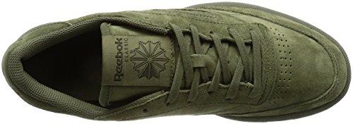 Reebok Club C 85 Tg, Sneakers Basses Homme olive vert