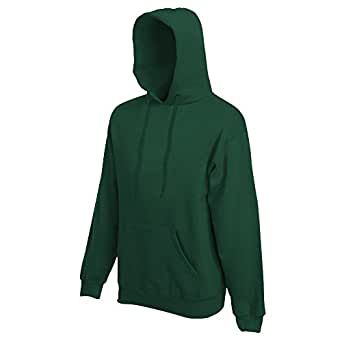 Fruit of the Loom - Kapuzen-Sweatshirt 'Hooded Sweat' S,Bottle Green