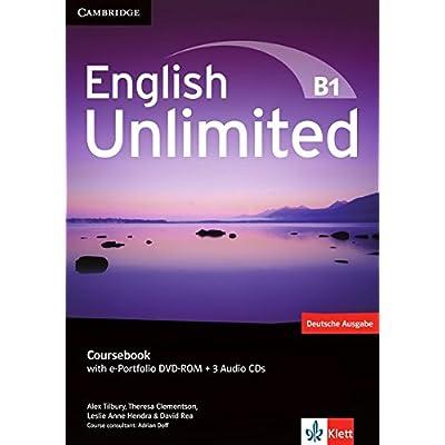 english unlimited b1 coursebook with e portfolio dvd rom 3 audio