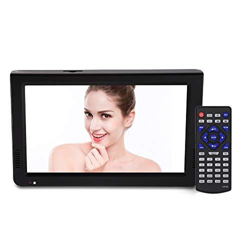 VBESTLIFE DVB-T-T2 Tragbarer Fernseher Digital Analog Fernsehen Portable TV,1024x600 Auflösung,RMVB/AVI/MPEG/MKV/MOV 1080P-Video, (Normale Version 10 Zoll)