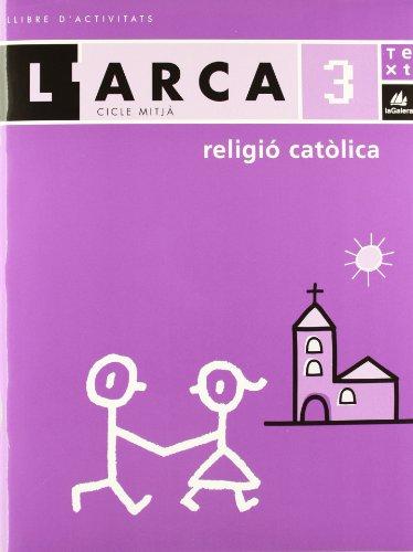 L'Arca Religió catòlica 3 activitats - 9788441211780
