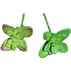 joyliveCY Suculenta Artificial verde planta