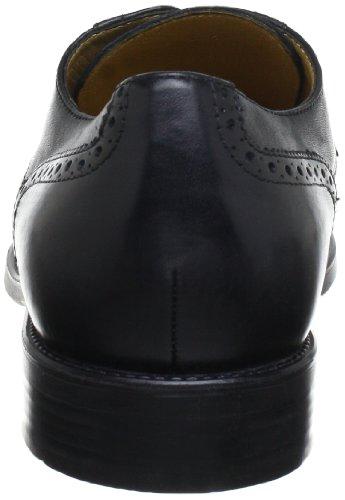 Geox - U Federico P, Scarpe stringate Uomo Nero (Schwarz (BLACK C9999))
