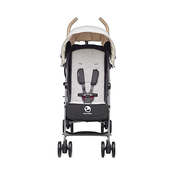 Easywalker Buggy Classic Breton  Suitable from birth 5 point 3 position harness Four recline positions with near flat recline 4