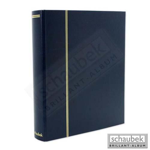 Preisvergleich Produktbild Schaubek Telefonkarten-Album Uniflex, für 160 Telefonkarten blau a-rb2033/TK