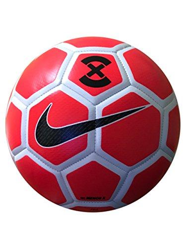 Nike FootballX Menor Futsal Trainingsball, neonrot/Weiß, One Size (Nike Fußball Ball Futsal)