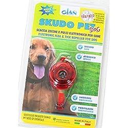 ICA SK1 Ahuyentador Electrónico contra Pulgas y Garrapatas para Perros