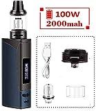 Cigarette électronique, kit Armor Vape, batterie rechargeable 2000mAh et atomiseur de vapeur à...