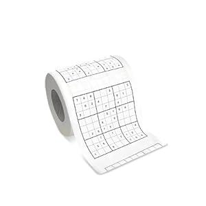 Toilettenpapier SUDOKU – Let's play…