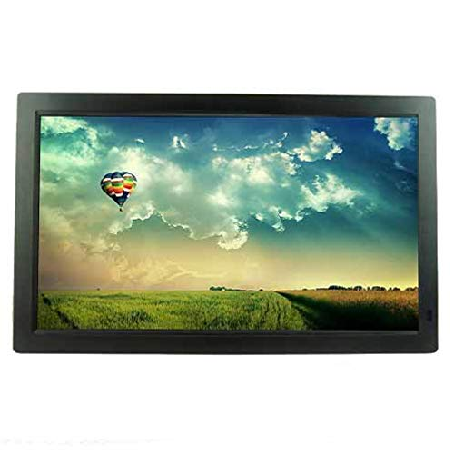 TLgf Digital Photo Frame, 27 Zoll LED LCD-Bildschirm HD-Wand-Halterung Werbung Unterstützung MP3-Musik-Dateien, JPEG-Bildformat, M-JPEG, AVI, MOV, VOB, MP4