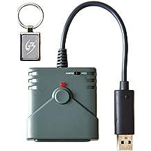 Mcbazel Brook PS2 al adaptador del convertidor estupendo del regulador del juego de PS3 / PS4 / PC With Gam3Gear Keychain