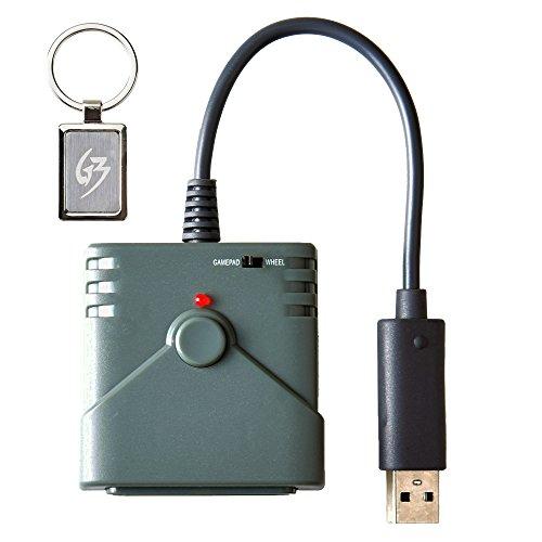 Mcbazel Brook PS2 zu PS3 / PS4 / PC Game Controller Super Converter Adapter mit Gam3Gear Schlüsselbund