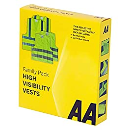 AA Gilet di Sicurezza Alta Visibilità Formato Famiglia