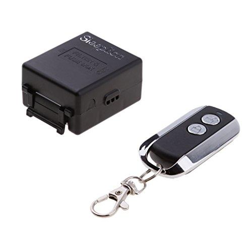 Homyl 220V Wireless 433MHz Fernbedienung Relais Schalter Empfänger für Home Licht (Wireless-relais)
