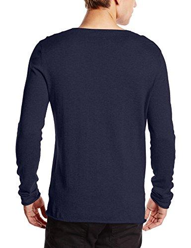 SELECTED HOMME - Shddome Crew Neck Noos, Felpa Uomo Blu (Navy Blazer)