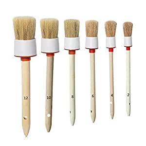car detailing brush set motorcycle automotive boar hair detail brush cleaning wheels engines. Black Bedroom Furniture Sets. Home Design Ideas
