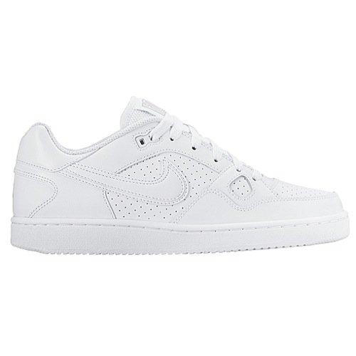 Nike Damen WMNS Son of Force Sportschuhe, Bianco (Blanco (White/White-Wolf Grey-White)), 43 EU (Tennis-nike Air Force)