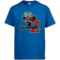 Camiseta Niño Mazinger Z Robot - Azul Muchos más colores
