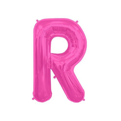 NorthStar Folienballon Buchstabe R-Magenta, 16 Zoll, Pink, 000522