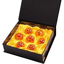 Bolas del Dragón DragonBall [7PCS], Mardozon Dragon Ball Z Bolas de Dragón 1 a 7 Estrellas con Caja de Regalo, Regalo de Año Nuevo para Coleccionar o ...
