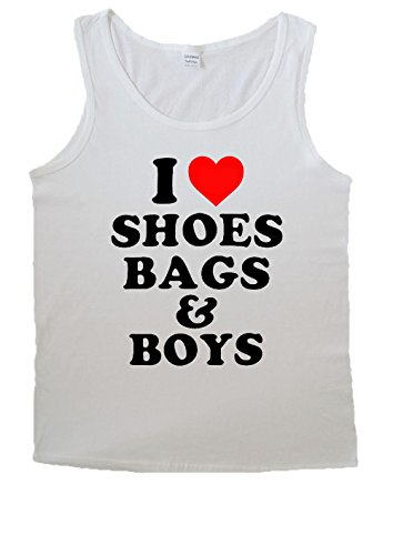I Love Shoes Bags And Boys Tumblr For Men Vest Tank Top T Shirt