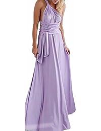 EMMA Donne Lunga Vestito da Cocktail da Sera Elegante Damigella D onore 695f36ec452
