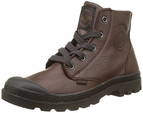 Palladium Pampa Hi Vl F, Baskets Hautes Femme Marron (E40 Fudged/After Dark)