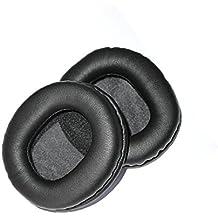 VEVER® 1par de repuesto almohadillas cojines para ATH M30M35M40M50, M50S, Sony MDR-7506, MDR-V6, MDR-CD900ST auriculares de diadema (con VEVER Logo paquete)
