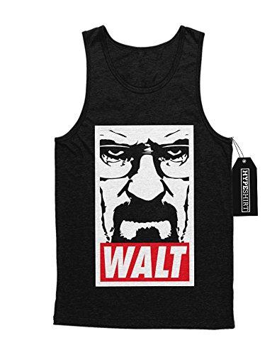Tank-Top Breaking Bad Walter White Jesse Pinkman Crystal Meth Hype C980020 Schwarz XXL (Walter White Kostüm Brille)