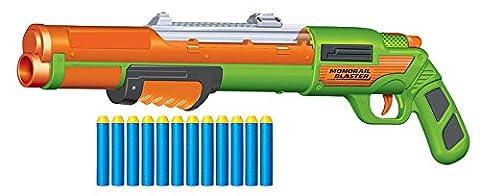 BuzzBee Rail Air Warriors Raider / Monorail - Nerf Compatible Shotgun Blaster