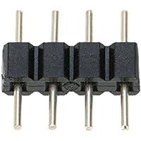 6 unidades conectores de 4 pines adaptador cable de conector conexión rápido para Tira de LED RGB SMD
