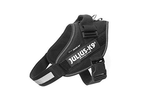 JULIUS-K9, 16IDC-P-0, IDC-Powergeschirr, Größe: 0, Schwarz