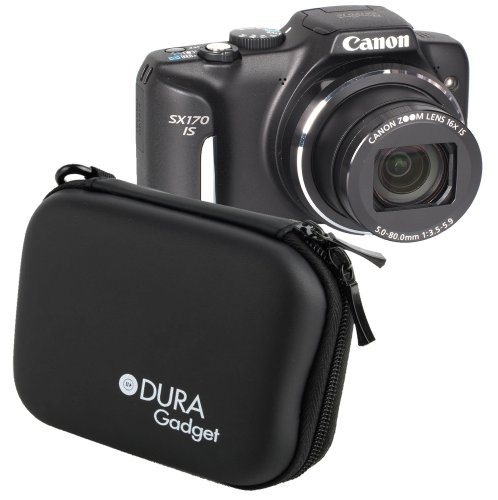 duragadget-rigid-black-shell-case-with-secure-dual-zips-belt-clip-for-the-canon-powershot-sx170-is