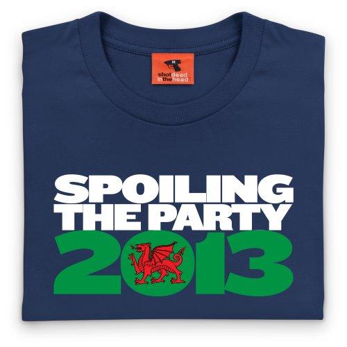 Six Nations 2013 T-Shirt, Herren Dunkelblau