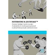 Carnet de Musique Notebooks & Journals, Boxe (Collection Vintage), Extra Large: Couverture souple (17.78 x 25.4 cm)(Carnet à musique, Cahier de musique)