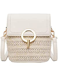 Amazon.es: bolso satchel - Blanco: Zapatos y complementos