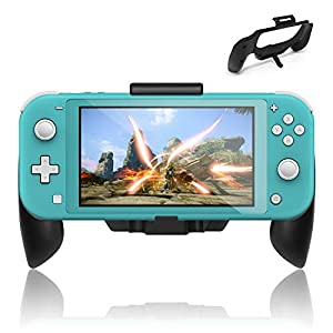 FASTSNAIL Griff für Nintendo Switch Lite, Grip Case Cover Stand Hand Grip für Switch Lite 2019