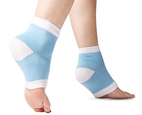 Plantar Fasciitis Gel Socken gegen Schmerzen am Sprunggelenk oder an der Ferse