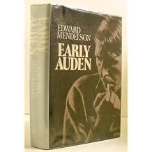 Mendelson Edward : Early Auden