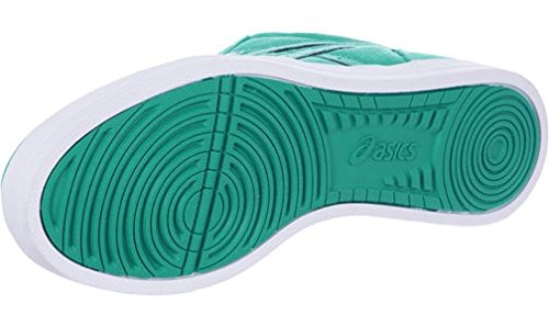 Asics Aaron, Baskets Basses Mixte Adulte Vert