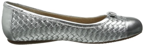 Softwalk Naperville Large Cuir Chaussure Plate Pewter
