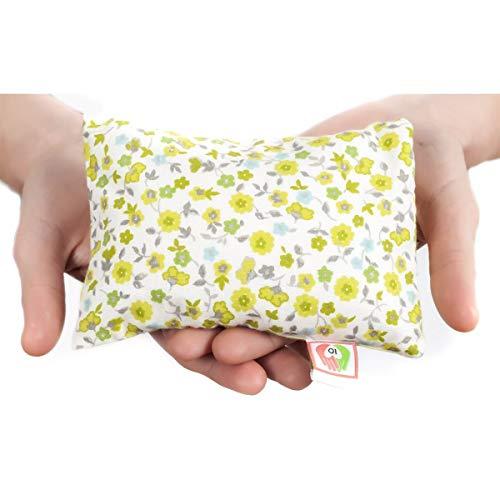 COJÍN ANTICÓLICOS para BEBÉS ✿ 15x10 cm ✿ Almohada Saco Térmico de Semillas para Microondas Tela de Algodón 100% Hecho a Mano ➤ST10