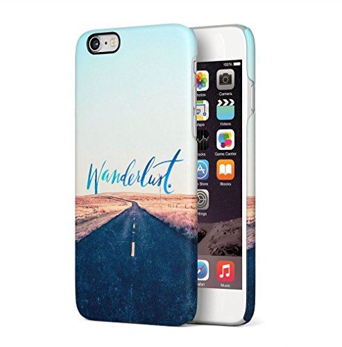 Wanderlust Endless Road Apple iPhone 6 PLUS / iPhone 6S PLUS SnapOn Hard Plastic Phone Protective Custodia Case Cover Endless Road