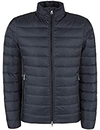 Emporio Armani EA7 Tessuto Down Jacket 6ZPB14PN22Z-1578 Unisex Veste (Night  Blue) f02ab72327c