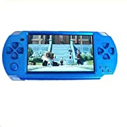 Oyrl PSP Game Console with 10000 Games, Music, Alarm, Calculator, Camera, SD Card Slot And 1 Set Cartoon Earph