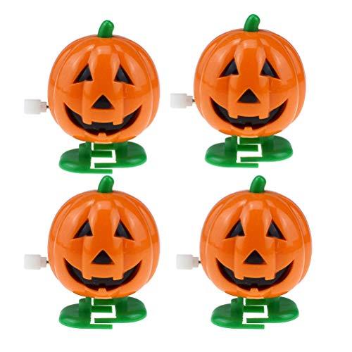 STOBOK 4Pcs Wickeln Sie Kürbis Spielzeug Halloween Spielzeug für Kleinkinder