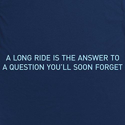 A Question You'll Soon Forget T-Shirt, Herren Dunkelblau