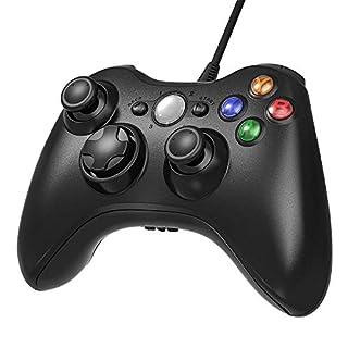 Diswoe Xbox 360 Controller Game Controller Gamepad For Microsoft Xbox & Slim 360 PC Windows